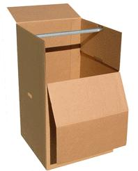 Boxes for clothes